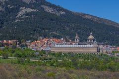 O monastério maravilhoso do EL Escorial, Espanha fotografia de stock royalty free