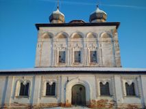 O monastério ortodoxo abandonado Foto de Stock Royalty Free