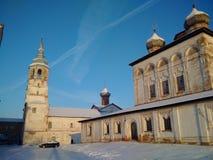 O monastério ortodoxo abandonado Imagens de Stock
