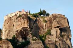 O monastério santamente de St Stephen - Meteora Grécia Fotos de Stock Royalty Free