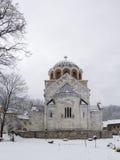 O monastério Studenica, Sérvia, local do patrimônio mundial do Unesco Imagens de Stock Royalty Free