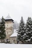 O monastério Studenica, Sérvia, local do patrimônio mundial do Unesco Fotografia de Stock Royalty Free
