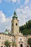 O monastério de St Peter, Salzburg Foto de Stock