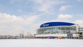 O2 mondo - arena dell'interno a uso multiplo Fotografie Stock Libere da Diritti