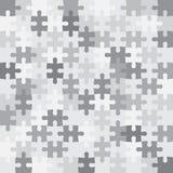 O monochrome do enigma remenda o mosaico Fotografia de Stock Royalty Free