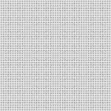 O monochrome sem emenda pontilha o teste padrão de grade Textura geométrica branca preta simples para a tela e a roupa Ilustração Imagens de Stock