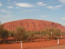 O monolit o mais grande no mundo Imagens de Stock Royalty Free