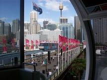 O monotrilho de Sydney fotos de stock royalty free