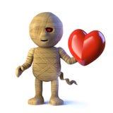 o monstro egípcio da mamã 3d está no amor ilustração royalty free
