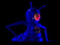 O monstro um micróbio, um vírus. Fotografia de Stock