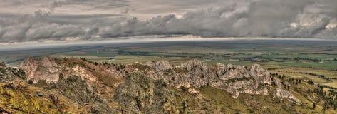 O montículo do urso é um parque estadual em South Dakota ocidental rural foto de stock royalty free