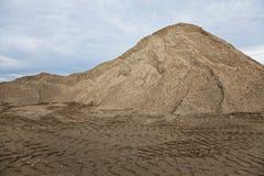 O monte da areia imagens de stock royalty free