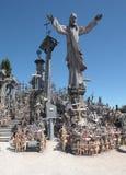 O monte das cruzes Fotografia de Stock