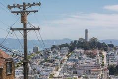 O monte de San Francisco Foto de Stock