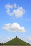 O monte do leão de Waterloo fotos de stock