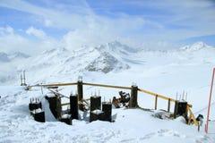 O Monte Elbrus Fotos de Stock Royalty Free