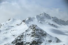 O Monte Elbrus Imagens de Stock