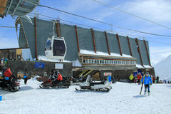 O Monte Elbrus Imagens de Stock Royalty Free