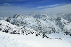 O Monte Elbrus Fotografia de Stock Royalty Free