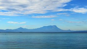 O Monte Kinabalu Sabah Foto de Stock Royalty Free
