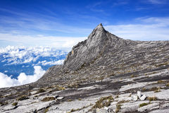 O Monte Kinabalu, Sabah, Bornéu, Malásia Imagens de Stock