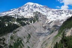 O Monte Rainier Imagens de Stock Royalty Free
