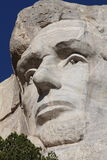 O Monte Rushmore, close up de Lincoln Imagem de Stock