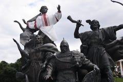 O monumento à cidade desaba, Kiev, Ucrânia Imagens de Stock