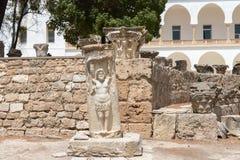 O monumento antigo de Carthage arruinado, Tunísia, África imagem de stock royalty free
