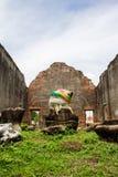 O monumento antigo no grande palácio de Phra Narai Imagem de Stock Royalty Free