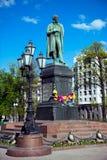 O monumento ao poeta Alexander Pushkin Imagens de Stock Royalty Free