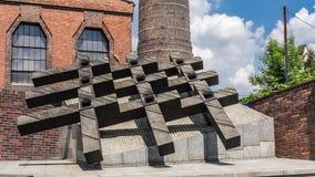 O monumento aos mineiros caídos Imagem de Stock Royalty Free