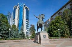O monumento a Bagration, Moscou, Rússia Fotografia de Stock Royalty Free