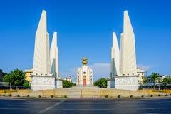 O monumento da democracia em Banguecoque, Tailândia Imagem de Stock