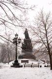 O monumento da imperatriz Catherine II Foto de Stock Royalty Free