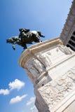 O monumento de Emmanue IIl do vencedor Imagem de Stock