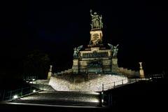 O monumento de Niederwald imagens de stock royalty free