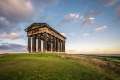 O monumento de Penshaw domina a skyline de Wearside Fotos de Stock Royalty Free