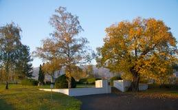 O monumento de prisioneiros caídos da guerra II da palavra Imagem de Stock Royalty Free