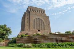 O monumento de Voortrekker apenas ao sul de Pretoria Tshwane em Gau fotografia de stock