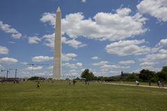 O monumento de Washington, Fotografia de Stock