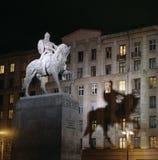O monumento de Yuri Dolgoruky Foto de Stock Royalty Free
