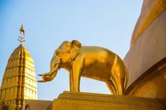 O monumento do elefante Fotos de Stock