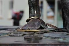 O monumento do músico Foto de Stock