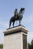 O monumento do rei Rama Five, Tailândia Imagens de Stock