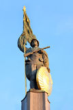 O monumento dos heróis em Viena, Áustria fotografia de stock