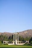 O monumento huguenote fotografia de stock royalty free