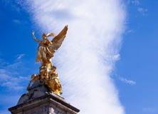 O monumento memorável Londres de Victoria imagem de stock