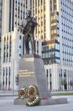 O monumento a Mikhail Kalashnikov Imagens de Stock
