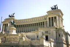 O monumento nacional de Roma Foto de Stock Royalty Free